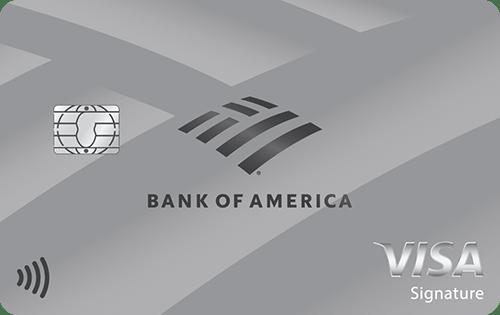 Bank of America® Unlimited Cash Rewards credit card