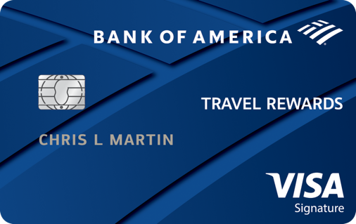 Bank of America® Travel Rewards Visa® credit card Reviews