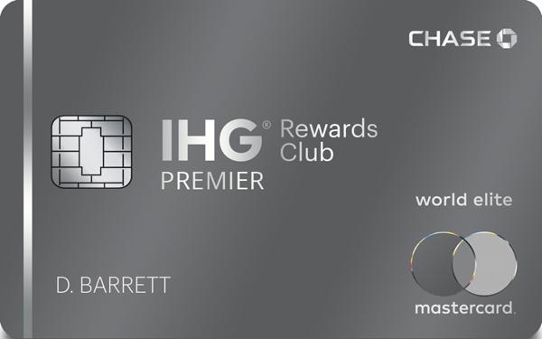 IHG® Rewards Club Premier Credit Card Reviews