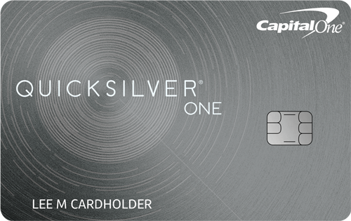 Capital One® QuicksilverOne® Cash Rewards Credit Card Reviews
