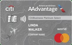 CitiBusiness® / AAdvantage® Platinum Select® Mastercard®