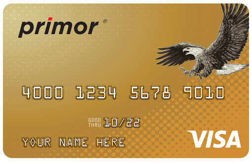 Green Dot primor® Visa® Gold Secured Credit Card