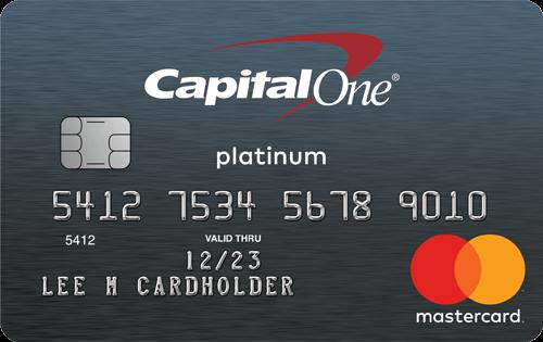 Capital One® Platinum Credit Card