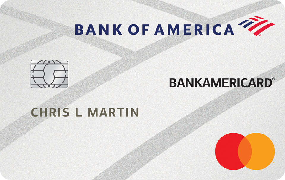 BankAmericard Credit Card from Bank of America