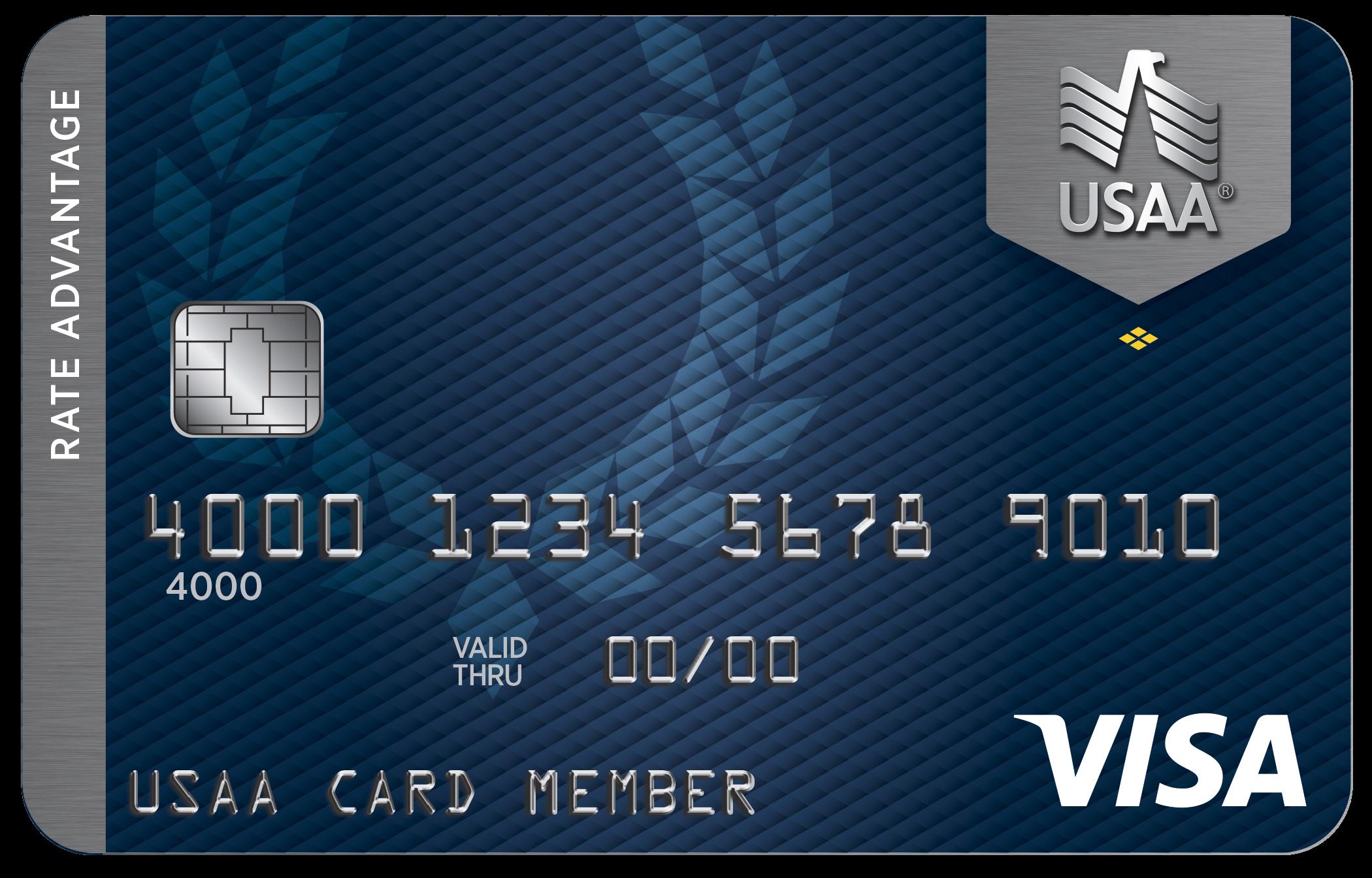 USAA® Rate Advantage Visa Platinum® Card