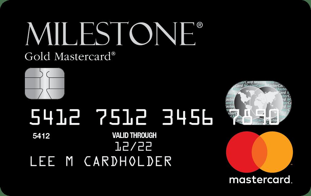 Milestone® Gold Mastercard®
