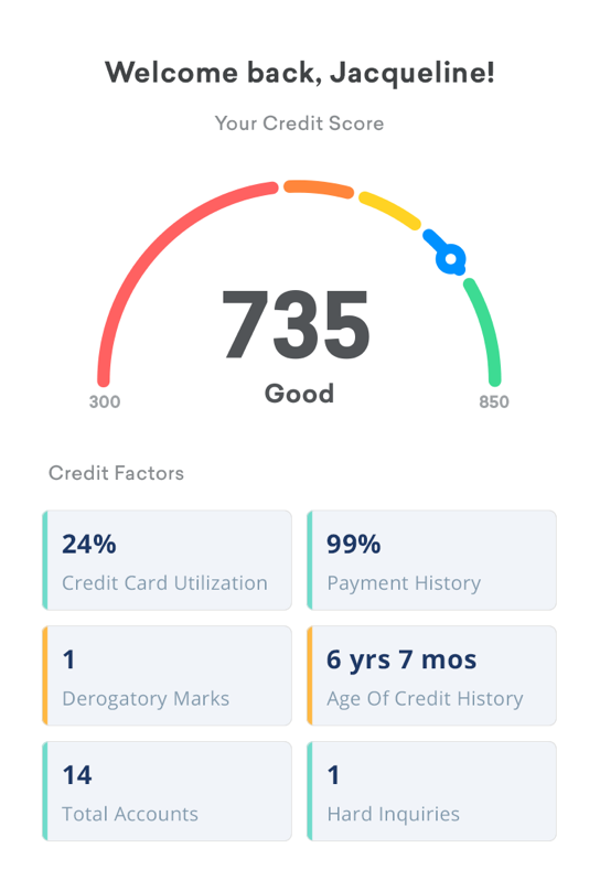 how to update my email on credit karma