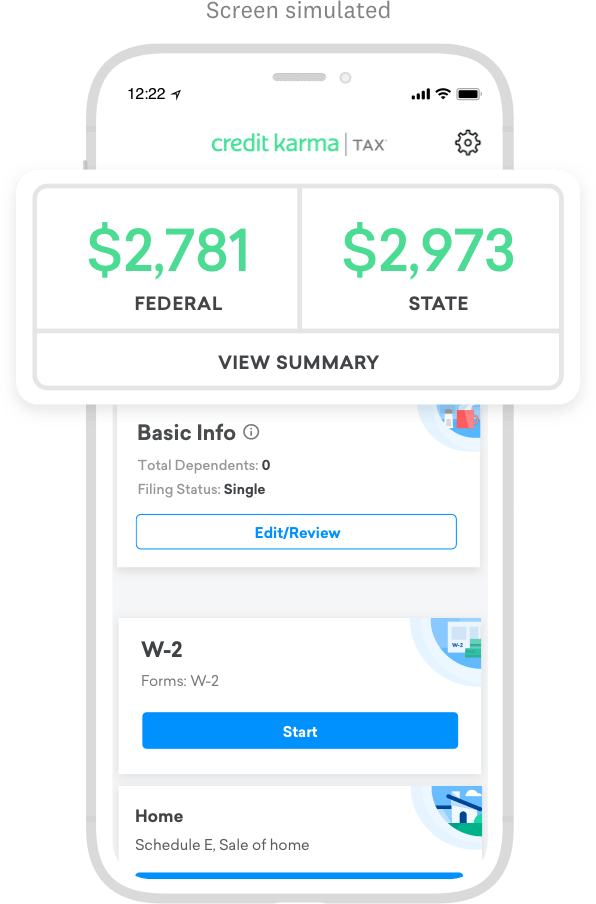 Tax App Images