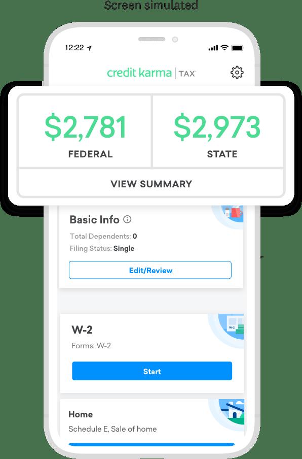 Tax App Images