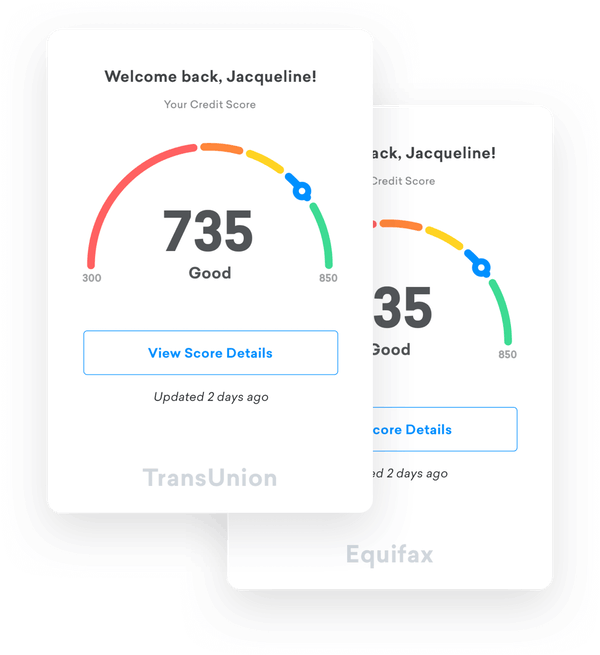 Free credit score free credit reports with monitoring credit karma score cards reheart Image collections