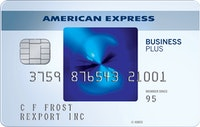 Best Business Credit Card 0 apr - The Blue Business℠ Plus Credit Card from American Express