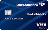 Carta di credito Bank of America® Rewards Travel