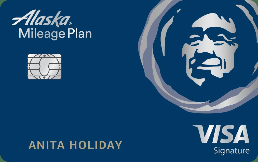 Alaska Airlines Visa Signature® credit card