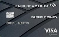 Bank of America® Premium Rewards® credit card