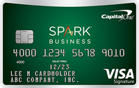 Best Business Credit Card 0 apr - Capital One® Spark® Cash Select for Business