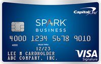 Best Business Credit Card 0 apr - Capital One® Spark® Miles for Business