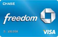 Chase Freedom® Visa  - $200 Bonus Cash Back