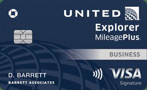 United℠ Explorer Business Card