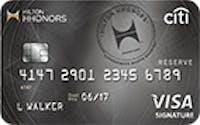 Citi® Hilton HHonors™ Reserve Card