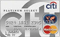 Citi® Platinum Select® MasterCard® - EXPIRED OFFER