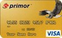 <i>primor</i>® Secured Visa Gold Card