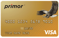 primor® Secured Visa Gold Card