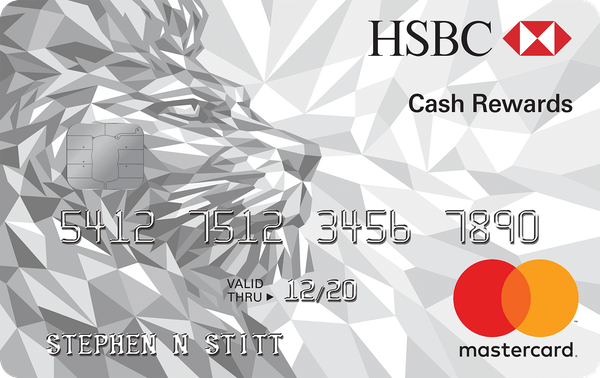 HSBC Cash Rewards Mastercard® credit card | Credit Karma