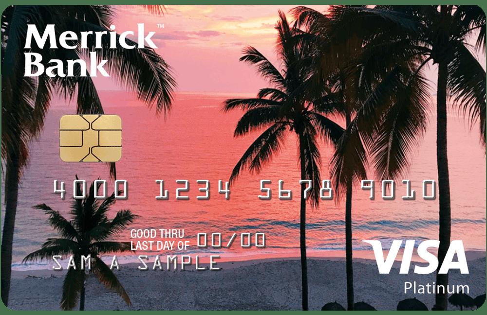 Merrick Bank Double Your Line™ Visa® Credit Card